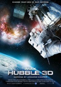 Plakat filmu Hubble 3D