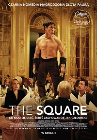 Plakat filmu The Square