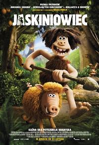 Plakat filmu Jaskiniowiec