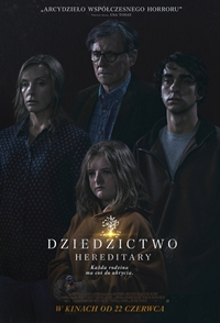 Plakat filmu Dziedzictwo Hereditary