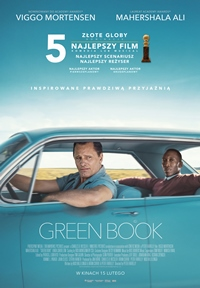 Plakat filmu Green Book