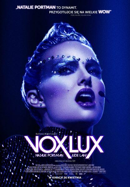 Plakat filmu Vox Lux