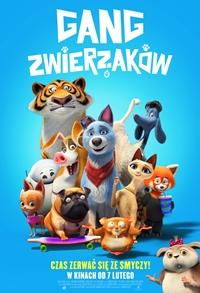 Plakat filmu Gang Zwierzaków