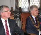 Jacek Jaśkowiak i Ryszard Grobelny