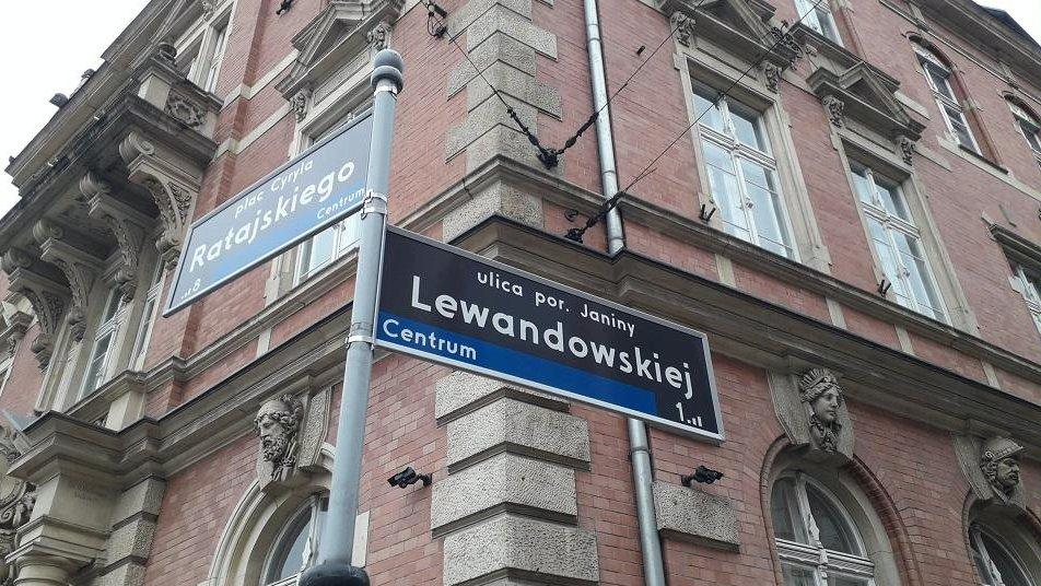 Poważnie Jest nowa lokalizacja dla ul. Janiny Lewandowskiej - Aktualności PX24