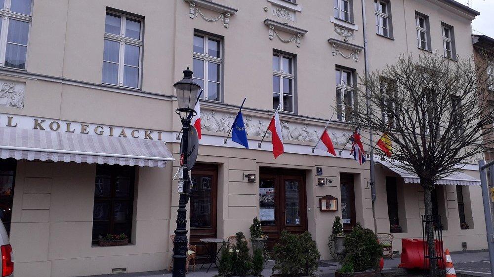 Jednym z zabytków, który otrzymał dofinansowanie na prace konserwatorskie i renowacyjne, jest kamienica przy pl. Kolegiackim 5, fot. M. Malinowski