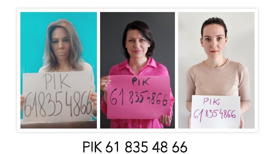 Radne: Monika Danelska, Marta Mazurek i Maria Lisiecka-Pawełczak zaangażowały się w akcję wsparcia dla osób doświadczających przemocy w warunkach izolacji domowej związanej z epidemią