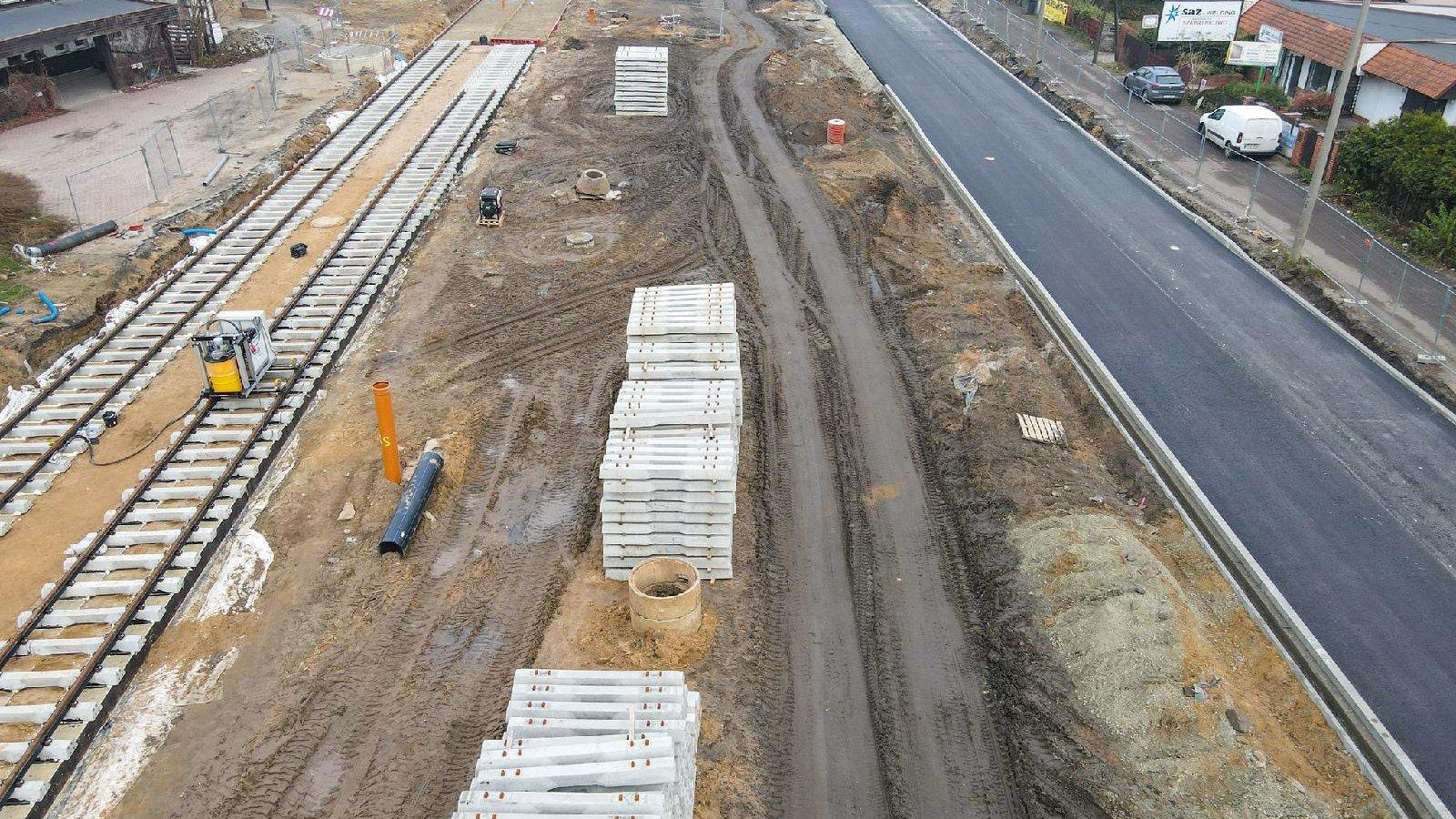Budowa trasy tramwajowej na Naramowice - grafika artykułu