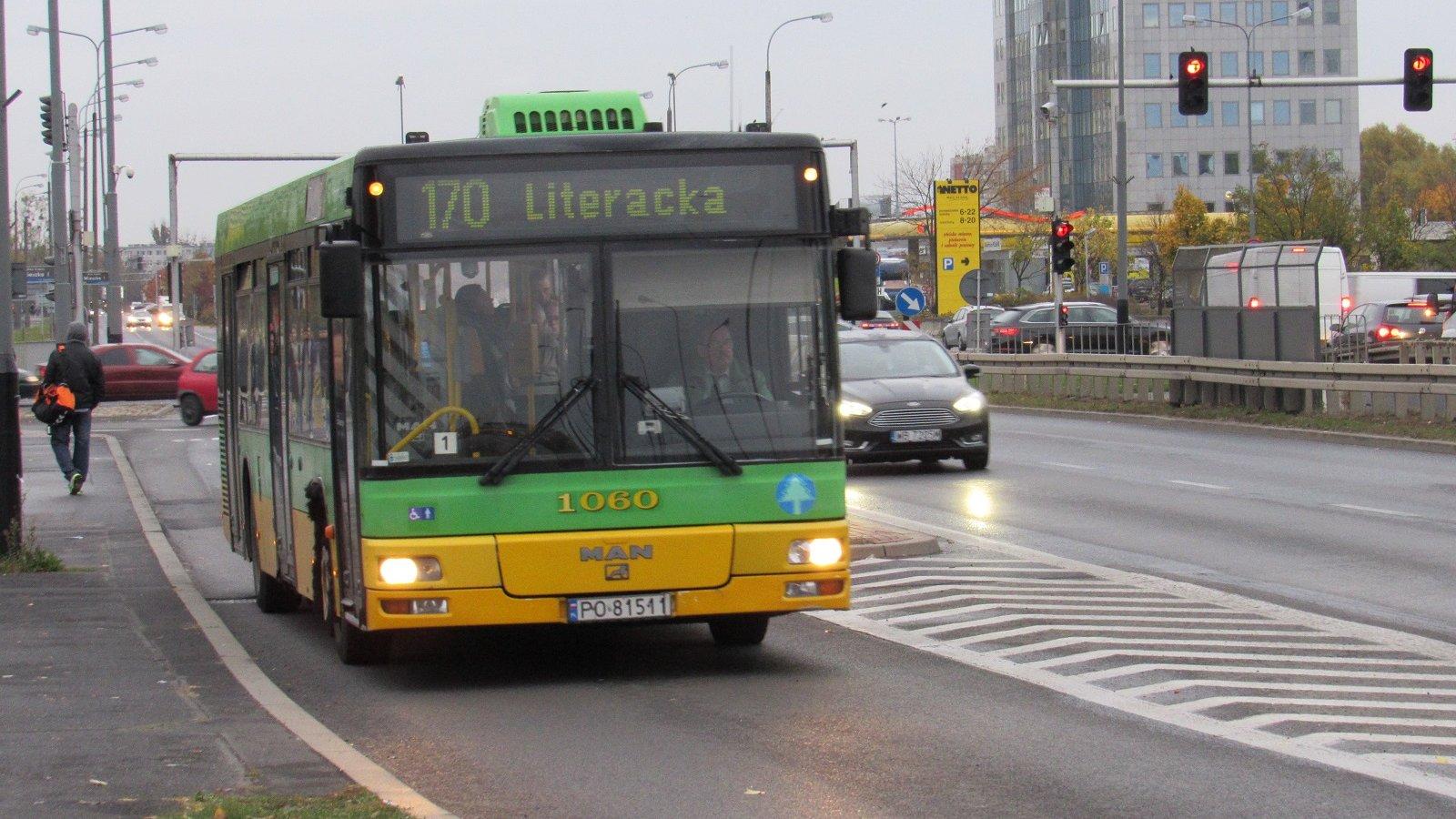 Linia nr 170 pojedzie częściej - Aktualności - Info - Poznan.pl