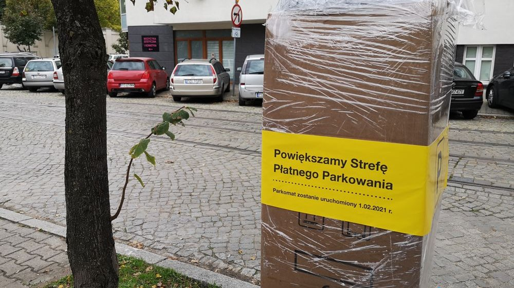 Opakowany parkomat. Zstanie uruchomiony 1.02.2021 roku - grafika artykułu