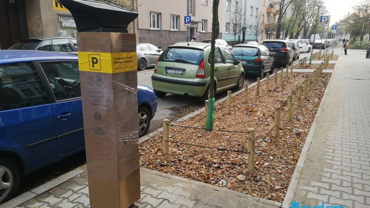 Parkomat - grafika artykułu