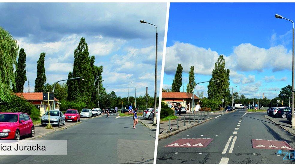 Porównanie dwóch zdjęć - przed i po wprowadzeni zmian - grafika artykułu