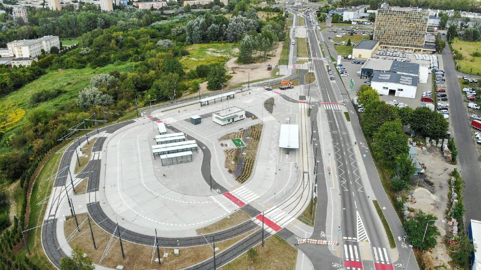 Widok na teren przy ul. Unii Lubelskiej - grafika artykułu