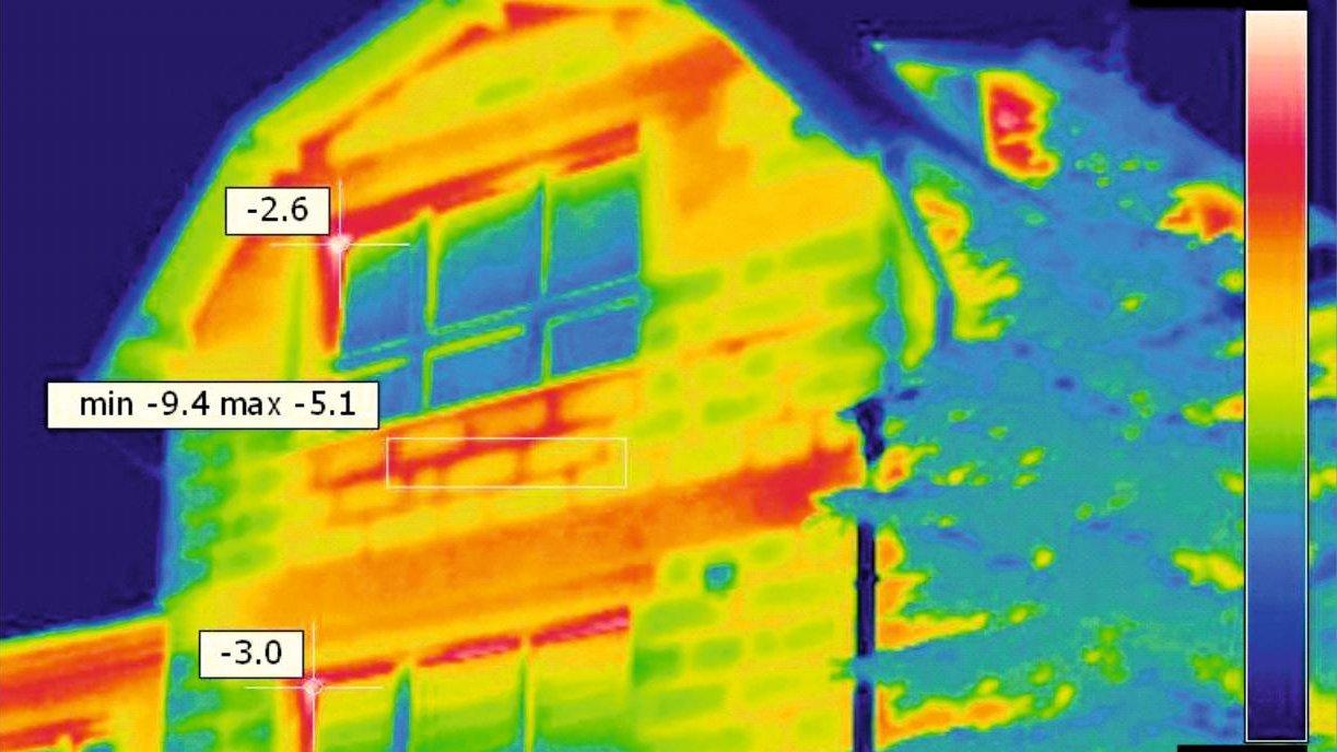 Zdjęcie przedstawia obraz z kamery termowizyjnej. - grafika artykułu