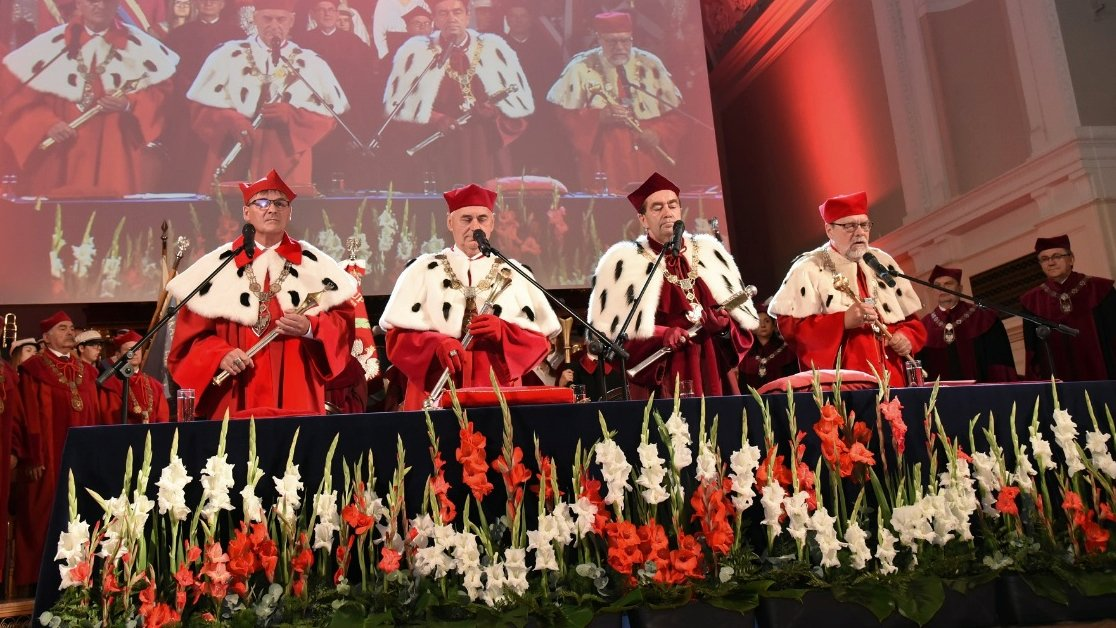 The celebration of the 100th anniversary of Poznań University