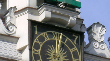 Town - hall clock