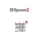 "Ikonka laptopa a obok napis: ""Bpower2"". Pod spodem: ""british polish chamber of commerce"" a nad napisem korona."